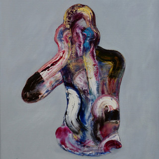 Scream , 26 x 38 Inches , Oil on canvas