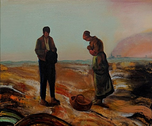 The Angelus -Sold