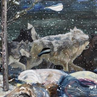 Endangered species series No.3. 52 x 81
