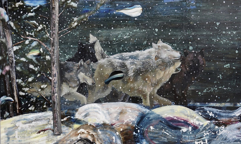 52 x 81 , Oil on canvas
