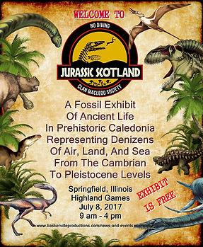 Jurassic Scotland ad