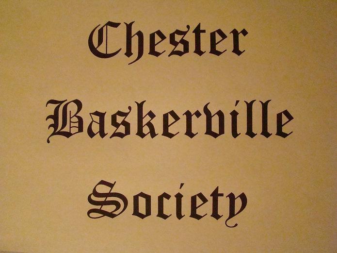 Chester Baskerville Society Slideshow