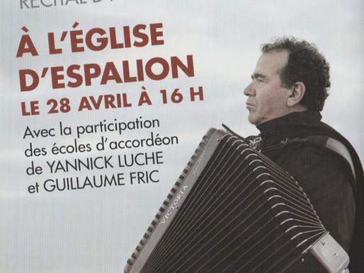 """Richard Galliano en concert avec les élèves de """"Haut 2 Gammes"""""""