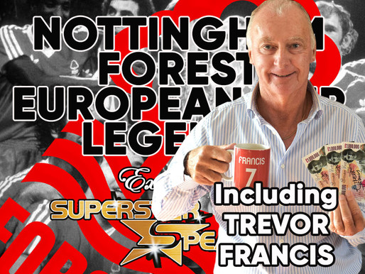 Nottingham Forest Exclusive Signing Session with the European Cup Winning legends of 1979 and 1980