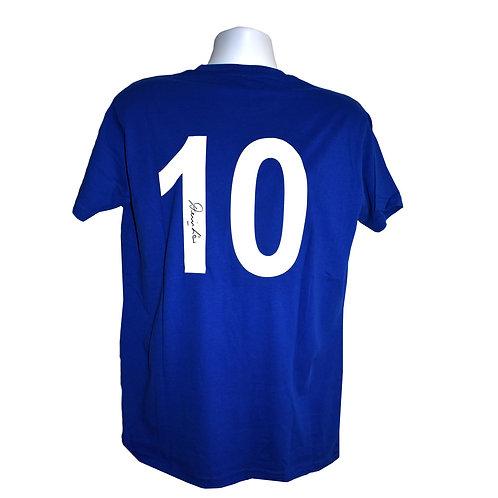 Denis Law Manchester United Signed 1968 Shirt