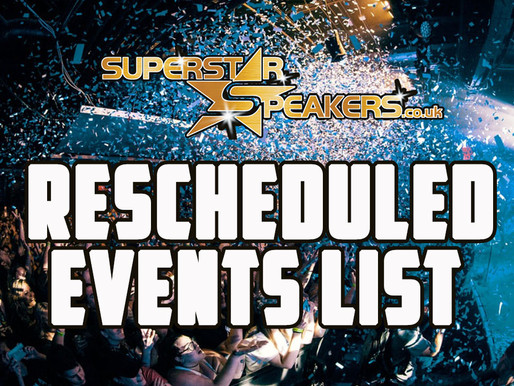 Rescheduled Events List 2020 / 2021