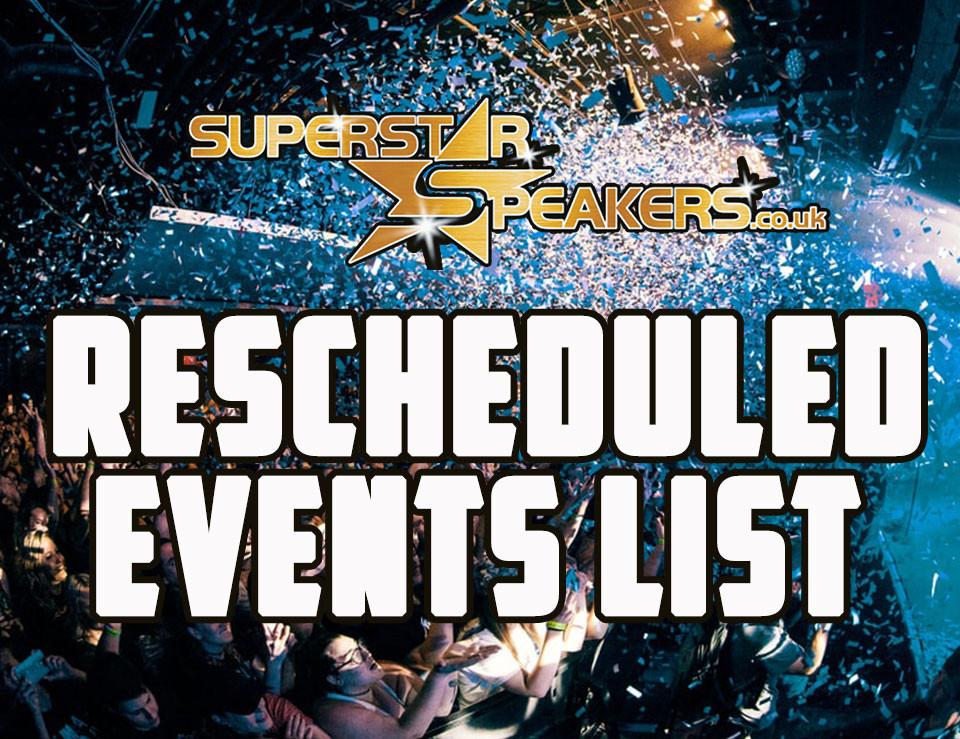 Superstar Speakers Events