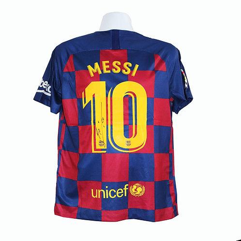 Lionel Messi Signed Shirt - Barcelona