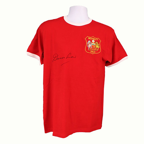 Denis Law FA Cup 1963 Signed Shirt