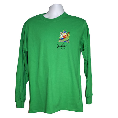 Alex Stepney Manchester United Signed Shirt - Front