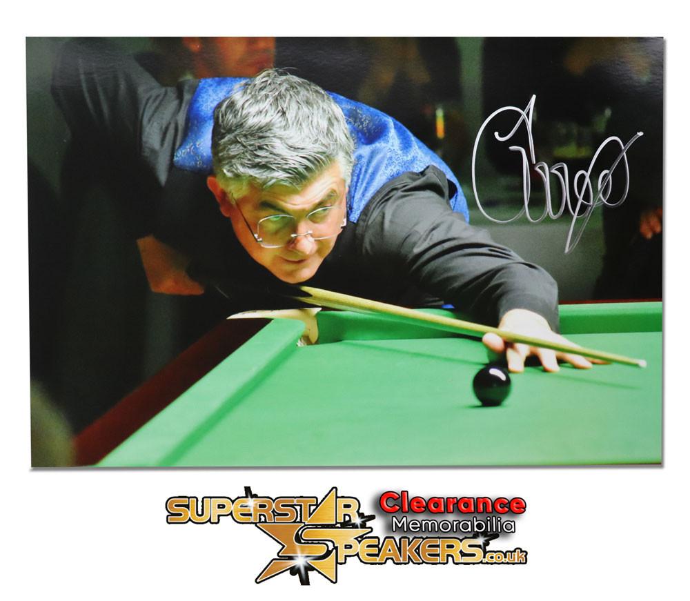 John Parrott Snooker Signed