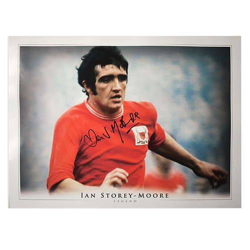 Ian Storey-Moore Nottingham Forest Signed Picture