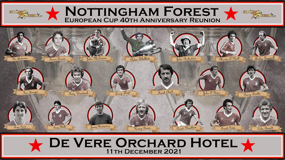 Nottingham Forest European Cup Legends