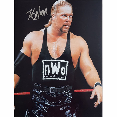 WWE Kevin Nash NWO/WCW Signed Picture
