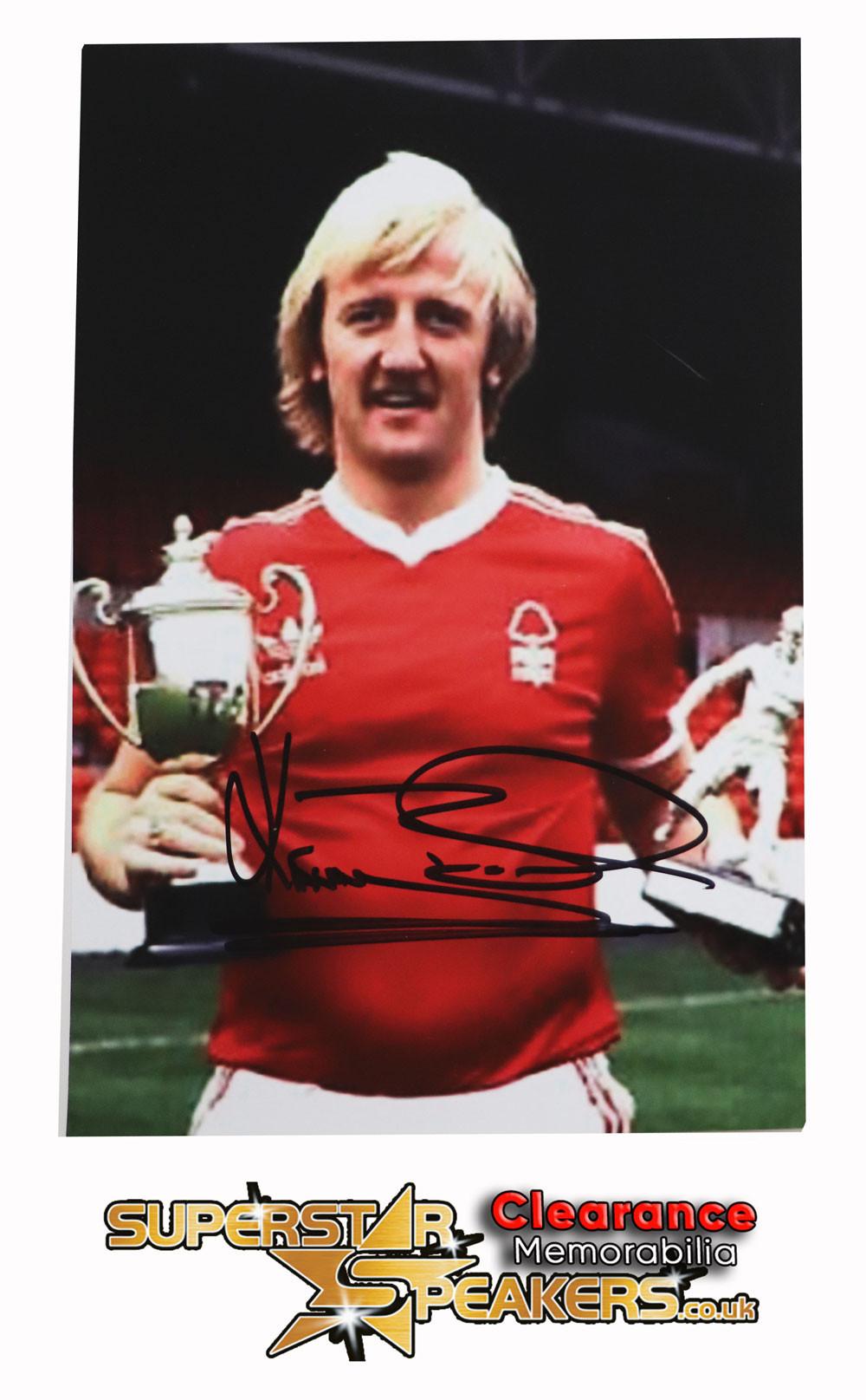 Kenny Burns Nottingham Forest Signed