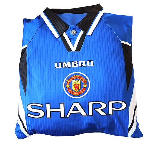 Manchester United 1996 - 1998 Third Kit Cushion