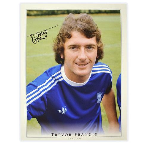 Birmingham City Trevor Francis Signed Picture