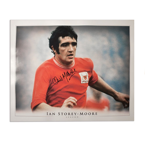Ian Storey-Moore Nottingham Forest Signed Picture - Large