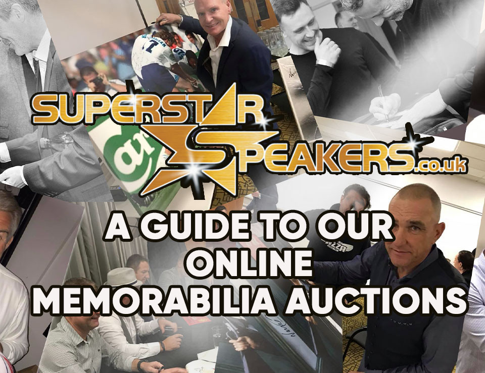 Online Memorabilia auctions