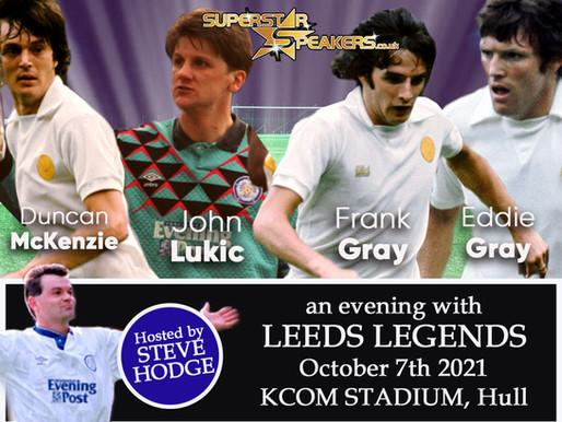 Leeds United Legends Tour 2021
