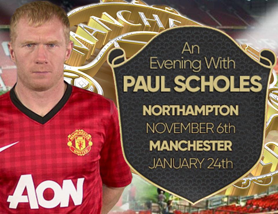 An Evening With Paul Scholes