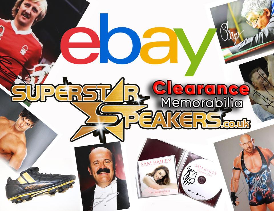 Superstar Speakers Clearance Memorabilia