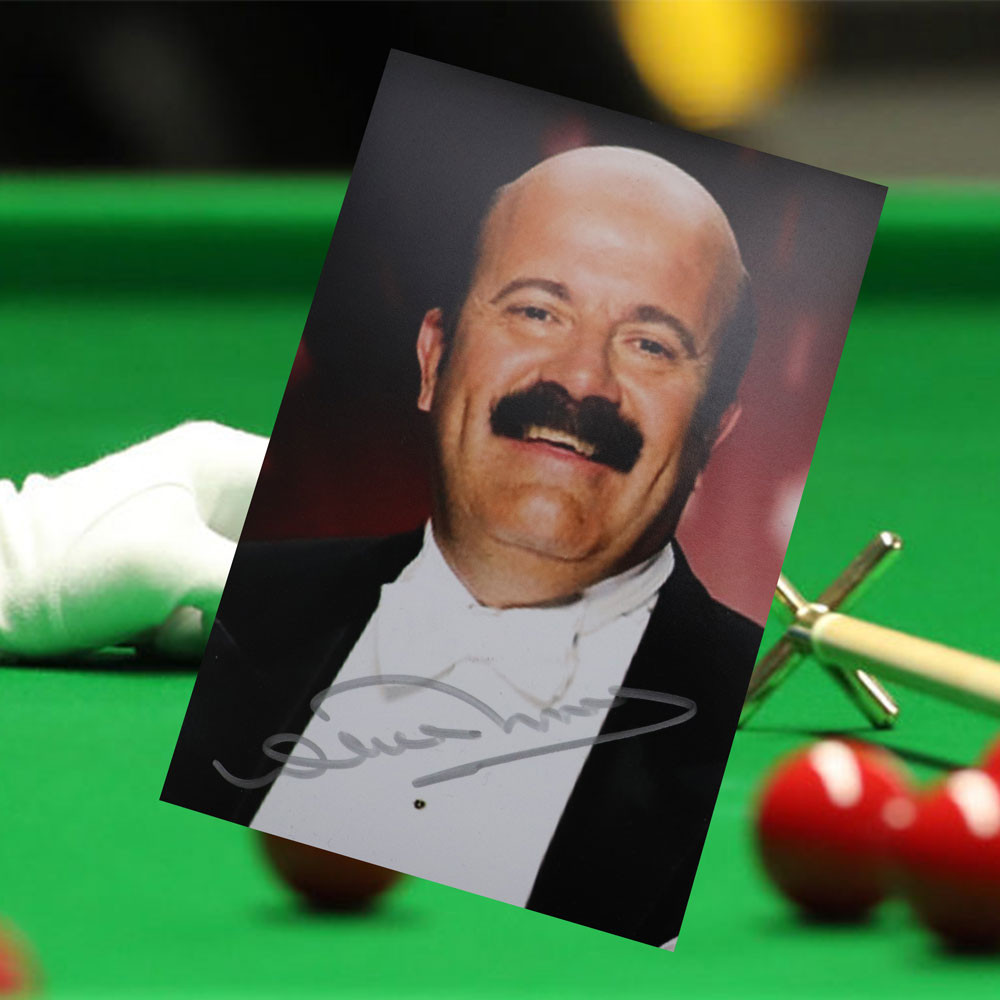 WIllie Thorne Signed Snooker legend