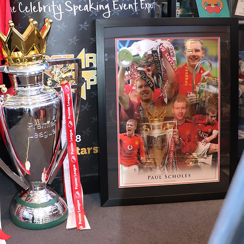 Paul Scholes Manchester United Signed Montage
