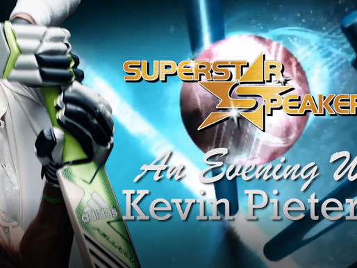England Cricket Great and Ashes Winner Kevin Pietersen  is coming to London with Superstar Speakers