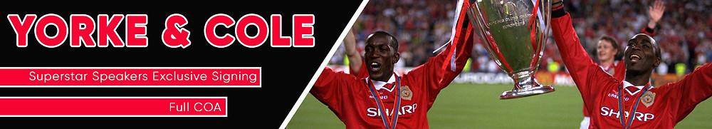 Yorke and Cole Man Utd