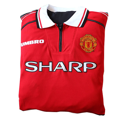 Manchester United 1998 - 2000 Home Shirt Cushion