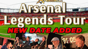 Arsenal Legends Tour Names and Dates Revealed