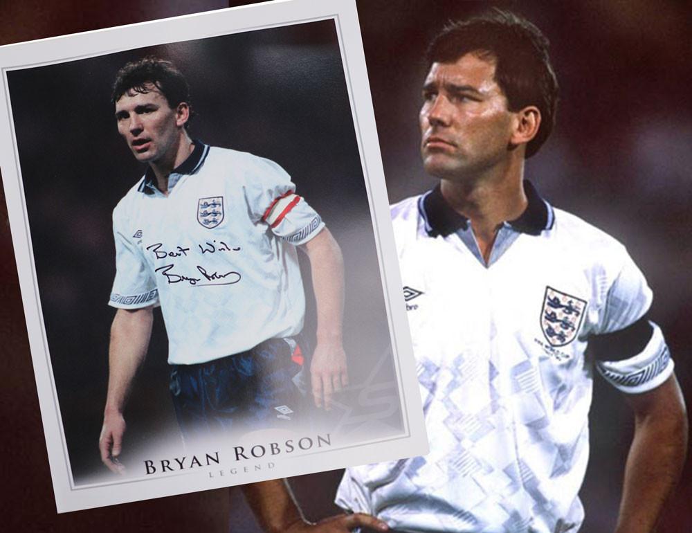 England Football Bryan Robson
