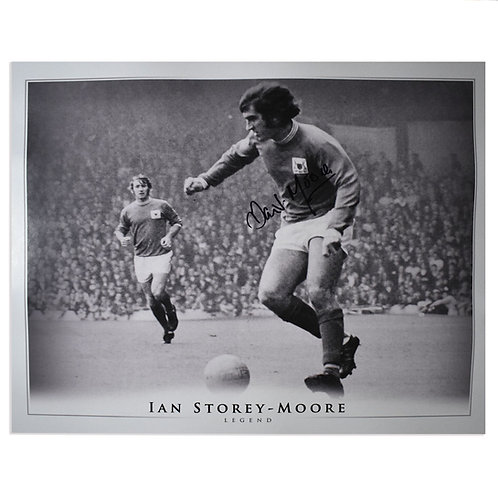 Ian Storey-Moore Signed Nottingham Forest Picture - Large
