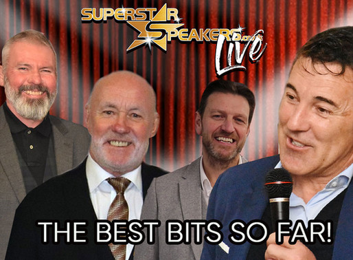 Superstar Speakers Live: The Best Bits