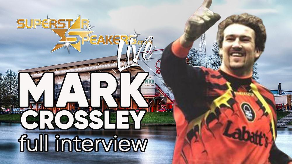 Mark Crossley interview