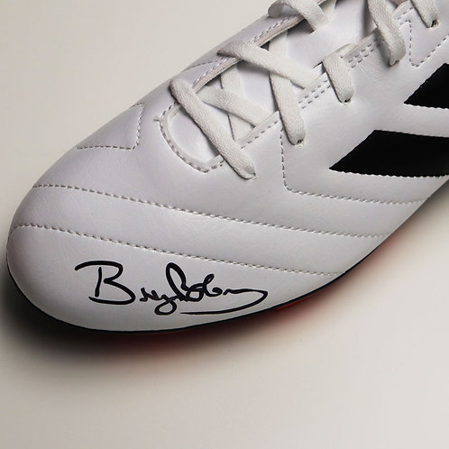 Bryan Robson Signed Football Boot