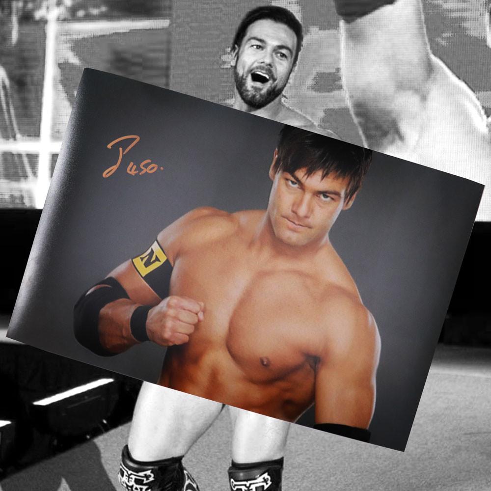 Justin Gabriel WWE signed