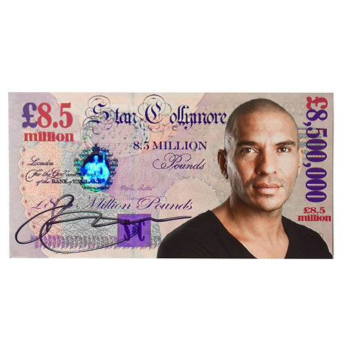 Stan Collymore Signed £8.5 million note