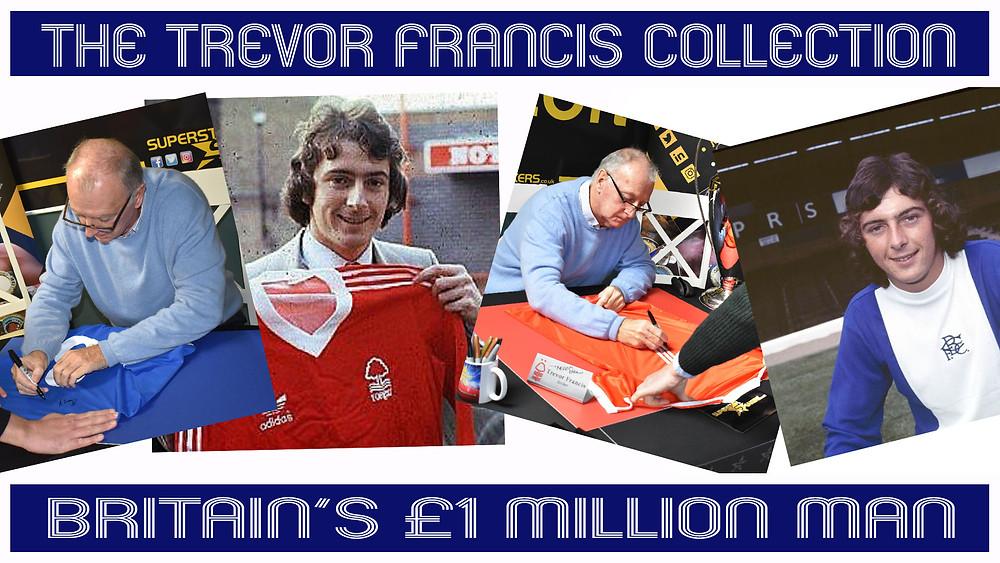 Trevor Francis Signed