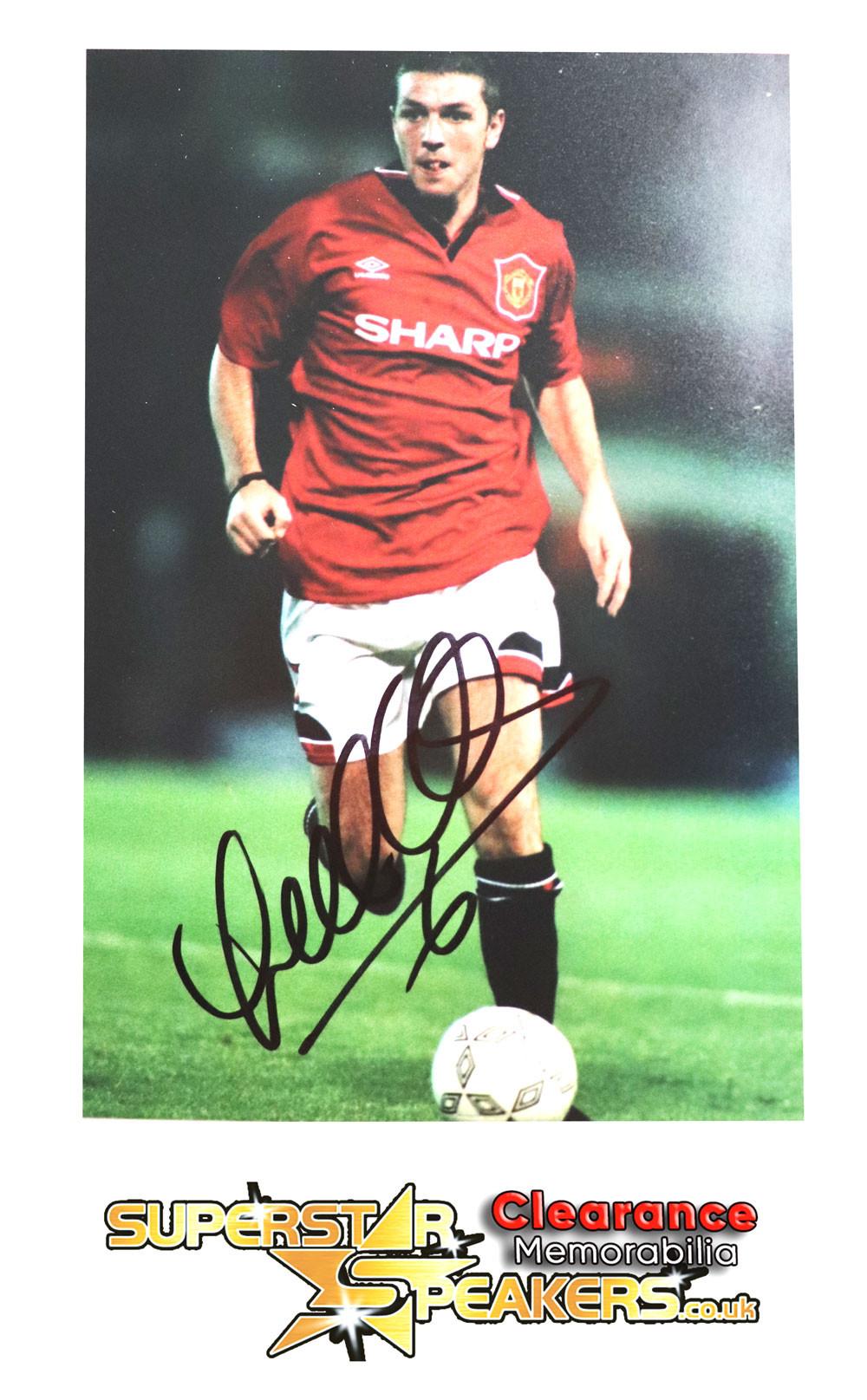 Lee Sharpe Man United Signed Photo