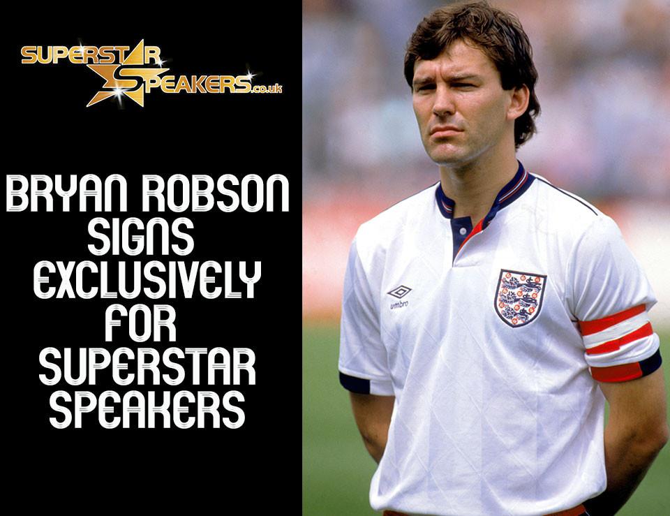 Bryan Robson Superstar Speakers