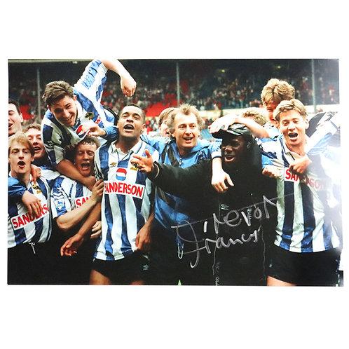 Trevor Francis Sheffield Wednesday Celebration Signed Photo
