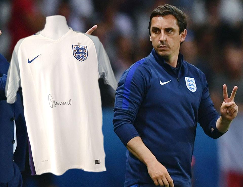 England Football Gary Neville