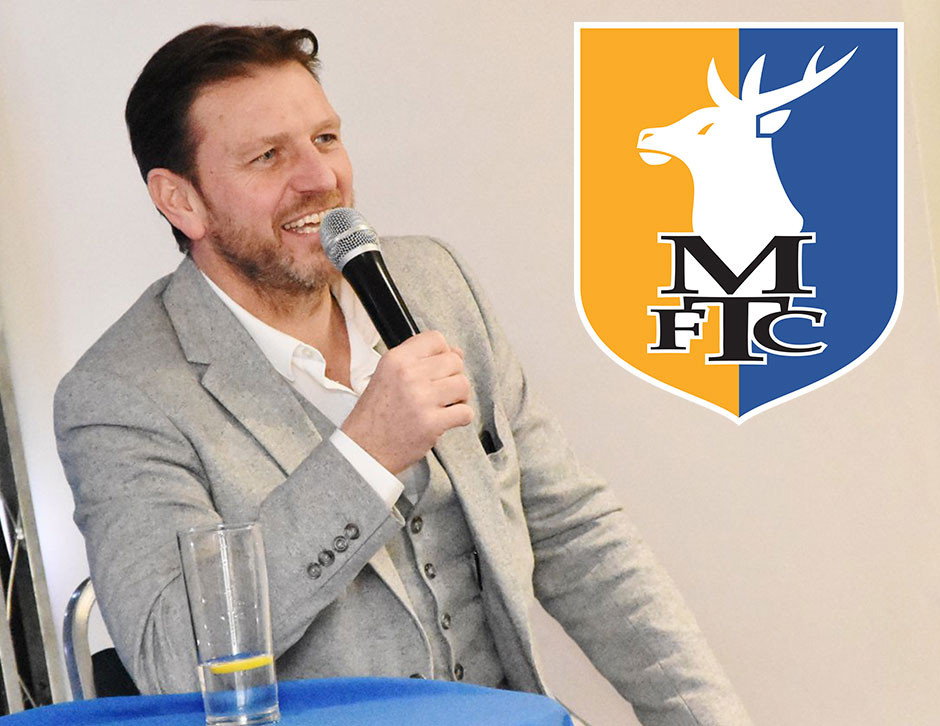 Lee Sharpe in Mansfield