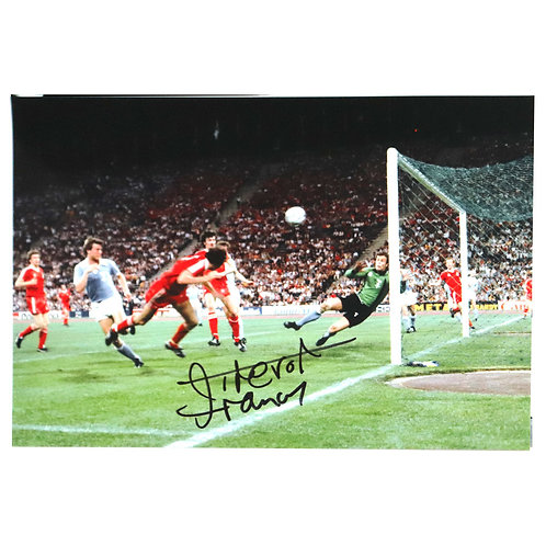Trevor Francis European Cup Winning Goal Signed Photo