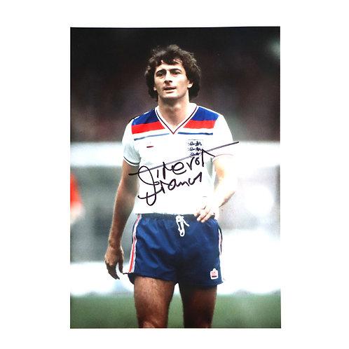 Trevor Francis England 1982 Signed Photo