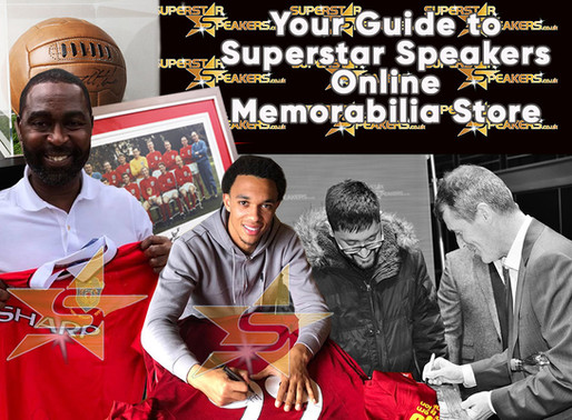 A Guide to Superstar Speakers Sports Memorabilia Online Store