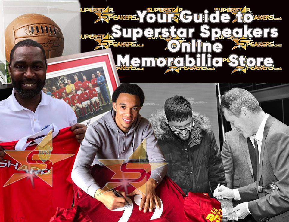 Superstar Speakers Memorabilia Online Store