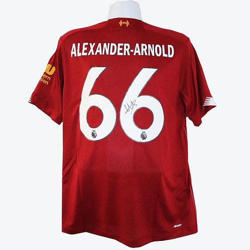 Trent Alexander-Arnold Liverpool Signed Shirt